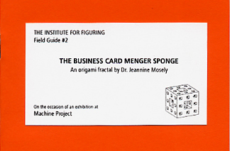 Field Guide to the Business Card Menger Sponge